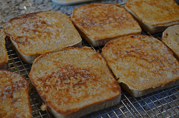 Cooling Father Time French Toast
