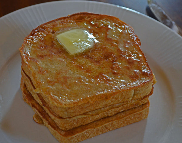 Father Time French Toast with Butter