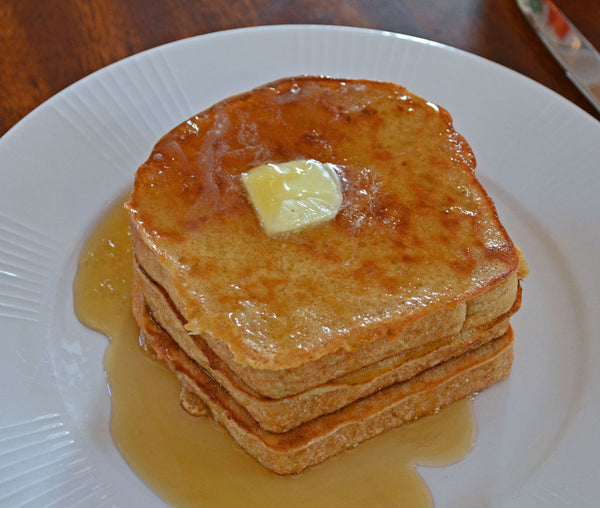 Father Time French Toast with Syrup