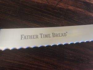 Father Time Bread Knife