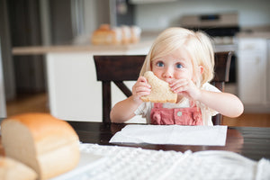 Meals kids eat with bread