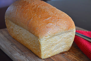 Fresh, homemade organic bread