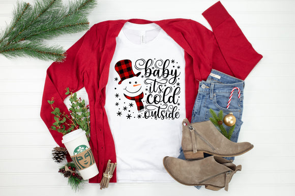 Baby It's Cold Outside Printed Tee