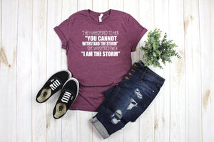 I am the Storm Printed Tee