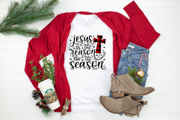 Jesus Is The Reason Printed Tee