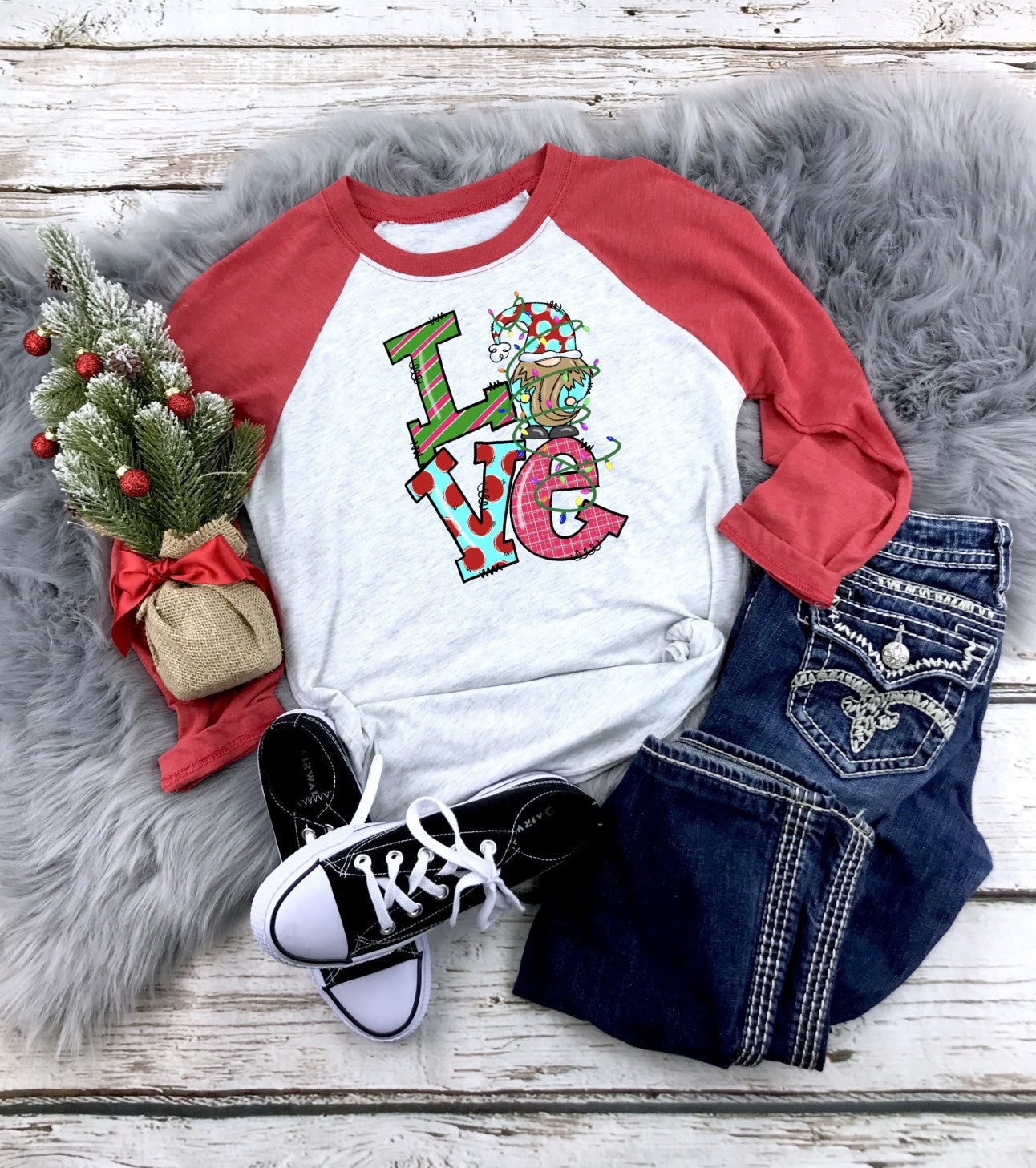 Love Gnome Printed Tee