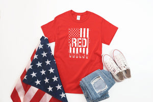 RED: Remember Everyone Deployed Screen Print