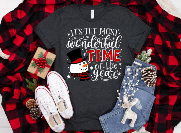 Most Wonderful Time of the Year Printed Tee