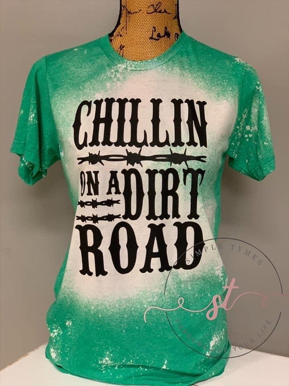 Chillin' On a Dirt Road Screen Print