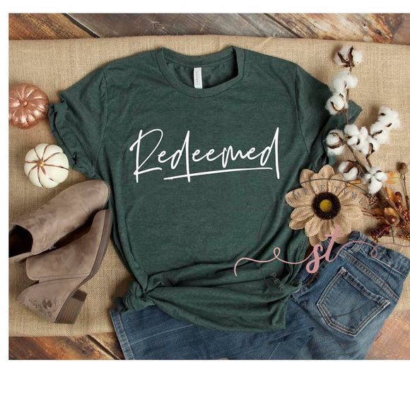 Redeemed Printed Tee