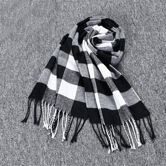 Plaid Scarves