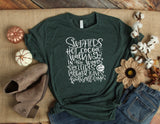 Fall Words Printed Tee