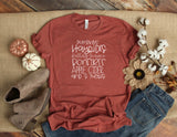 Pumpkins, Hayrides, and Fall Fun Printed Tee