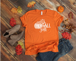 It's Fall Y'all Printed Tee