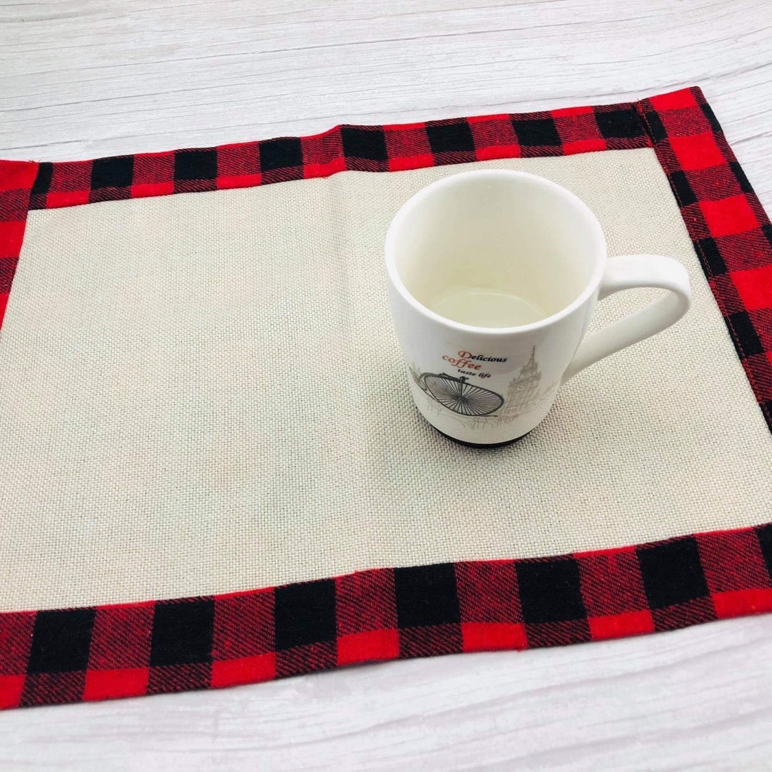 Buffalo Plaid Poly Placemats