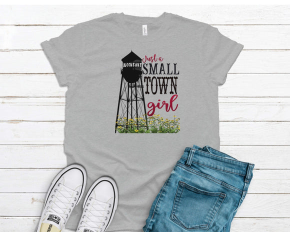 McCreary Small Town Girl Printed Tees