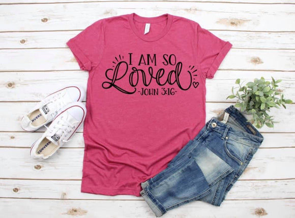 I Am So Loved Screen Print