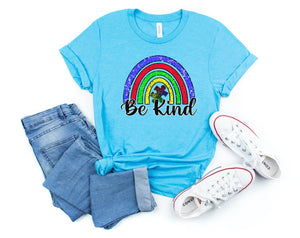 Be Kind Autism Printed Tee
