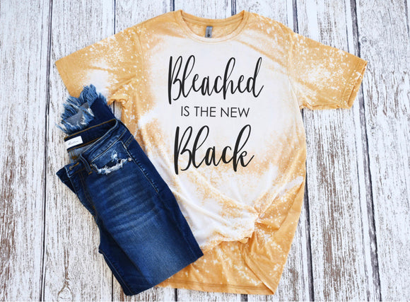 Bleached is the New Black Screen Print