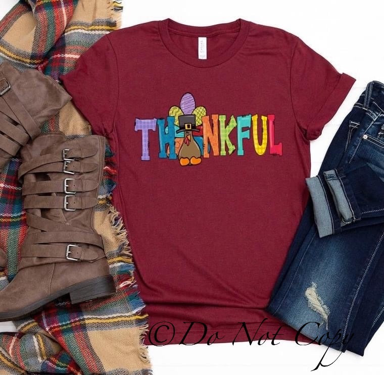 Thankful Printed Tee