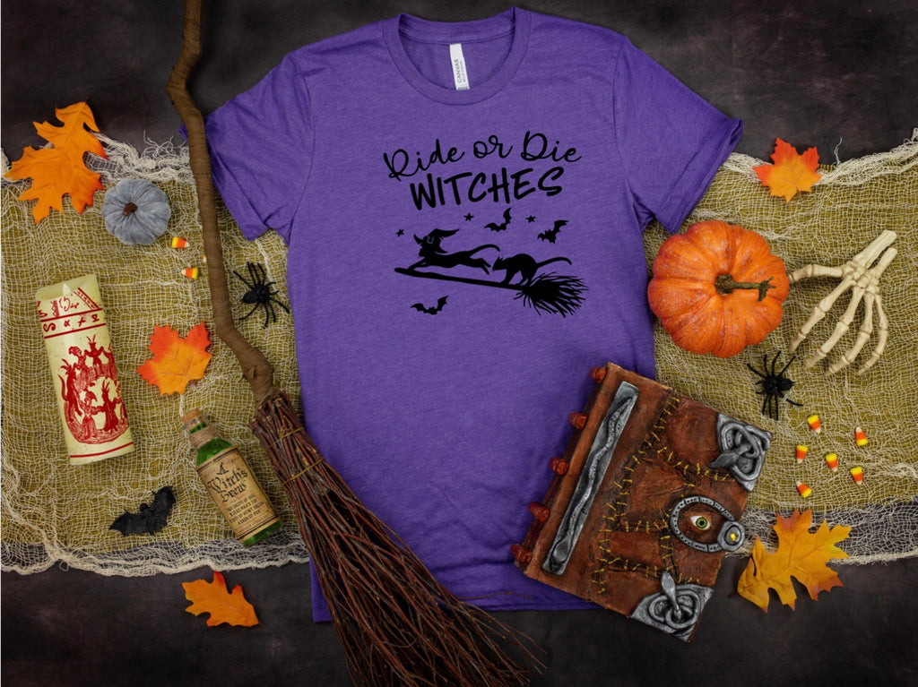 Ride or Die Witches Printed Tee