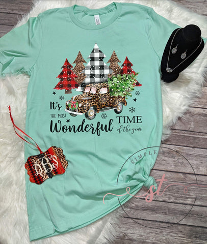 It's the Most Wonderful Time of the Year Printed Tee