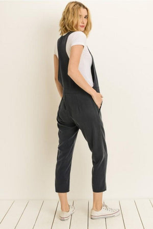 Zip Detail Jumpsuit