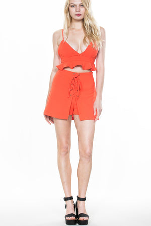 Sample Sale - Coral Two Piece Set