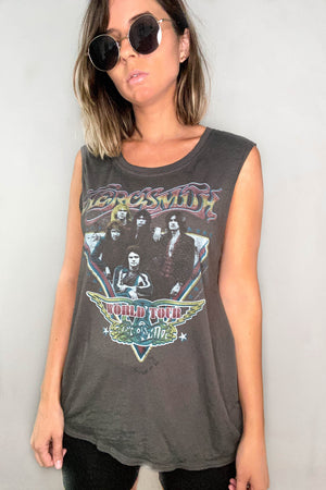 Vintage Aerosmith World Tour Tee