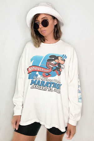 Vintage 10th Anniversary Walt Disney World Marathon Tee