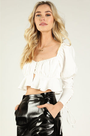 Juliette Bustier Crop Top