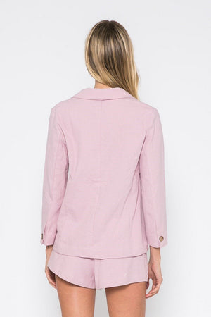 Sample Sale - Lavender Pink Blazer Set