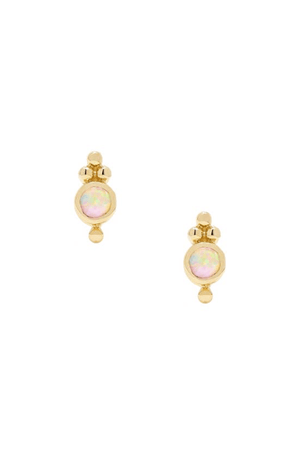 Leigh Opal Stud Earrings