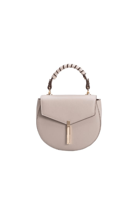 Mandy Taupe Crossbody Bag