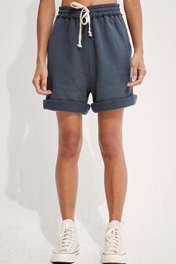 Recycled Cotton Fleece Gym Shorts