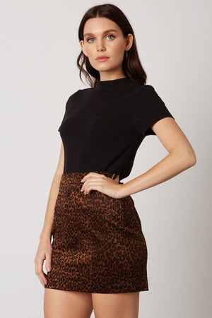 Sample Sale - Cheetah Mini Skirt