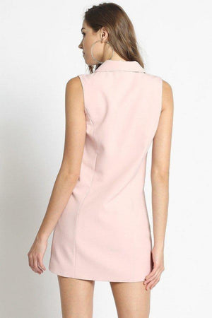 Tailored Vest Dress