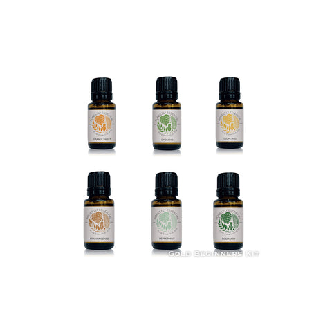 Gold Essential Oils Kit