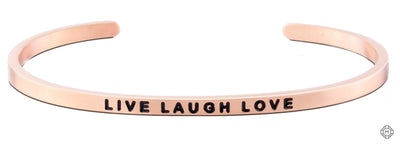 Live Laugh Love - Mettaband Bracelets