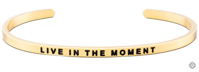 Live In The Moment - Mettaband Bracelets