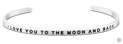 I Love You to the Moon and Back - Mettaband Bracelets