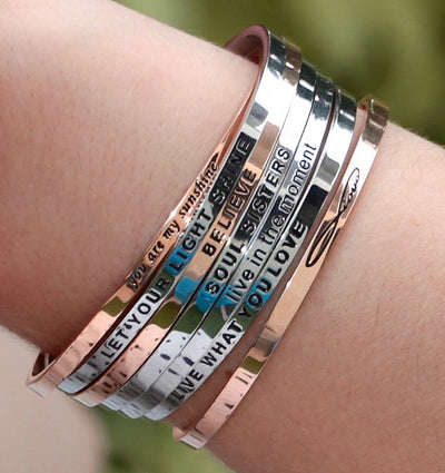 Live What You Love - Mettaband Bracelets