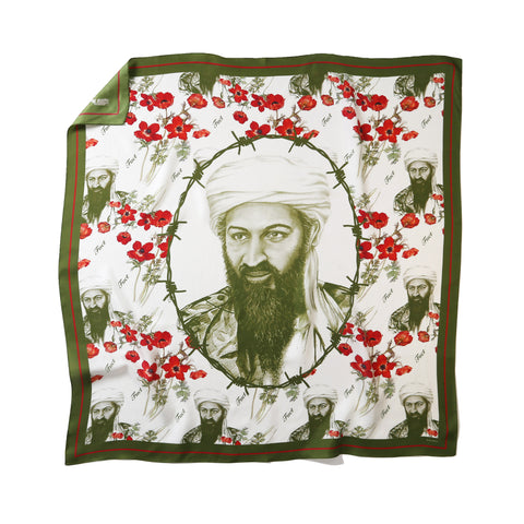 DRUG WAR SILK SCARF