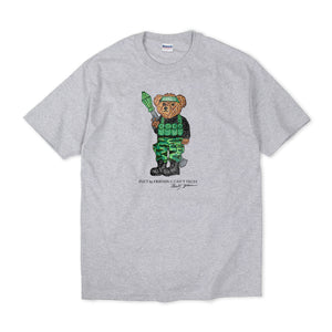 FREEDOM BEAR T-SHIRT HEATHER