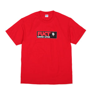 FUCT SAVES LIVES T-SHIRT RED