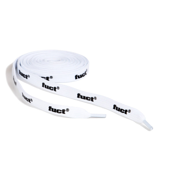 WHITE & BLACK LOGO SHOELACES