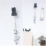 Rabbit Wooden Clothes Hooks - House Of Isaac