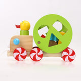 Duckling Pull Along Cart - House Of Isaac