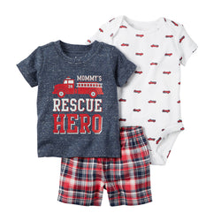 3pcs Hero Pyjamas - House Of Isaac