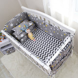 Bumper Cot Set - House Of Isaac